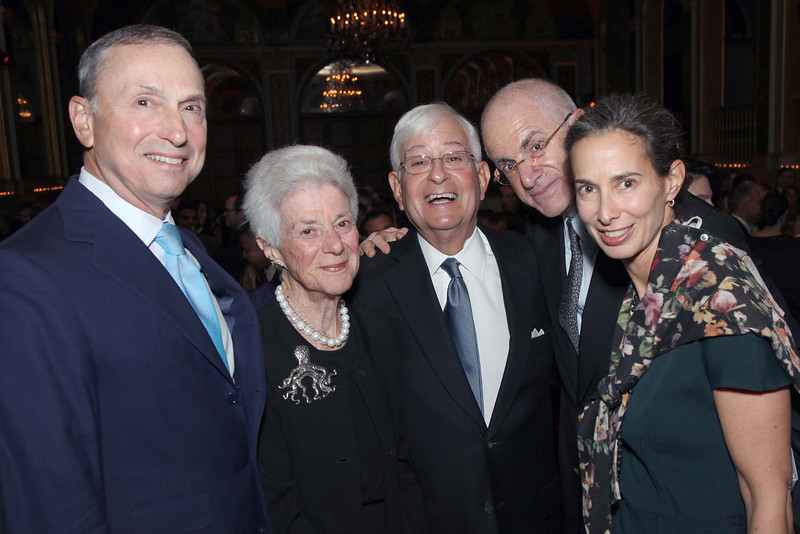 Robert I  Grossman, MD, dean and CEO NYU Langone, Billie Tisch, Philip Moskowitz, MD, Tom and Alice Tisch - Jay Brady Photo (1)