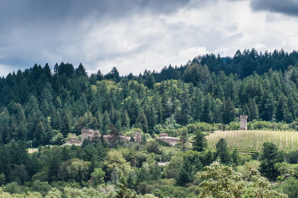 You can see Castello di Amorosa from Sterling!