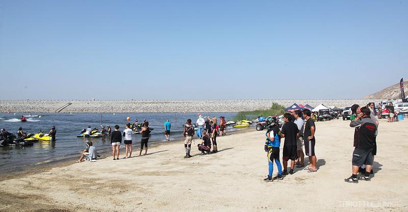 National Jet Ski tour 2012 Lake Perris life style and some racing.