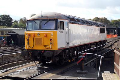 56091 Wansford Turntable.