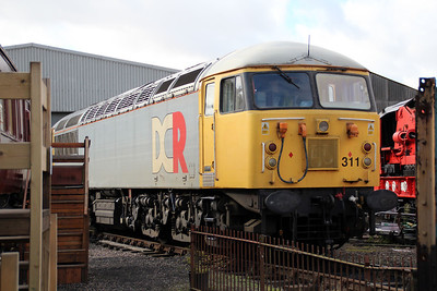 56311 on Wansford Shed.