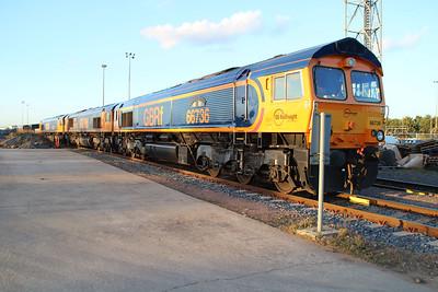 66736 GBRF Peterboro Depot.
