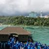 Blue ponchos swarming the boat