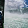 Peering at the falls