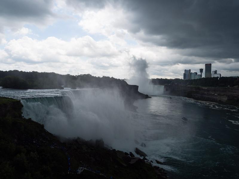 American Falls and Horseshoe Falls