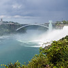 The Rainbow bridge and American falls