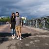 On the bridge to the mainland
