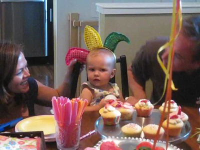 Noelle Siena Kurtz: First Birthday Party