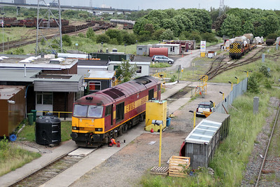 60049 on Tees stabling point. 23/06/12