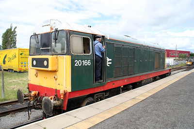 20166 at The Wenslydale Railway on 24/06/12