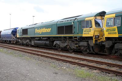 66515 stabled on Teesport Potash sidings 23/06/12