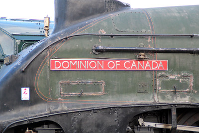 60010  nameplate 'Dominion of Canada'.