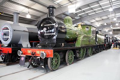 Steam No 1621 Shildon  20/10/12.