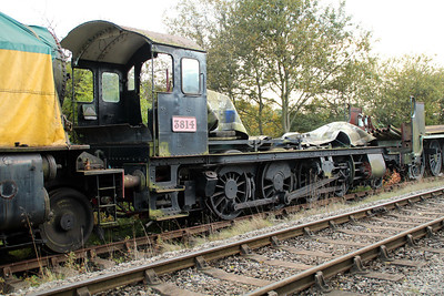 Steam No 3814 at Grosmont Sidings 20/10/12.
