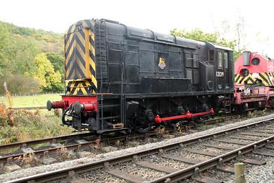12139 at Grosmont Sidings 20/10/12.