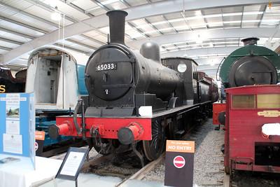 Steam No 65033 Shildon  20/10/12.