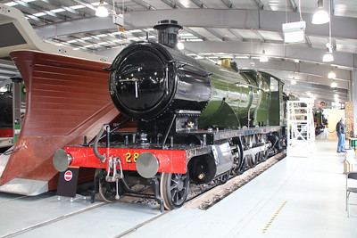 Steam No 2818 Shildon  20/10/12.