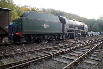Steam No 30926 in Grosmont shed yard  20/10/12.