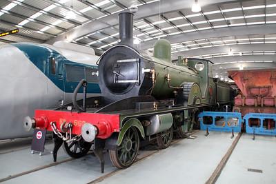 Steam No 563 Shildon  20/10/12.