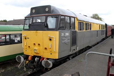 31206 at Rushden Station Museum