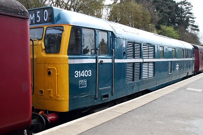 31289 painted on the other side as 31403 at Northampton and Lamport Railway.
