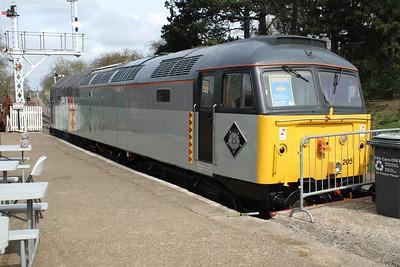 47205 at Northampton and Lamport Railway.