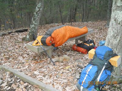 Nov 2012 AT Backpacking Trip