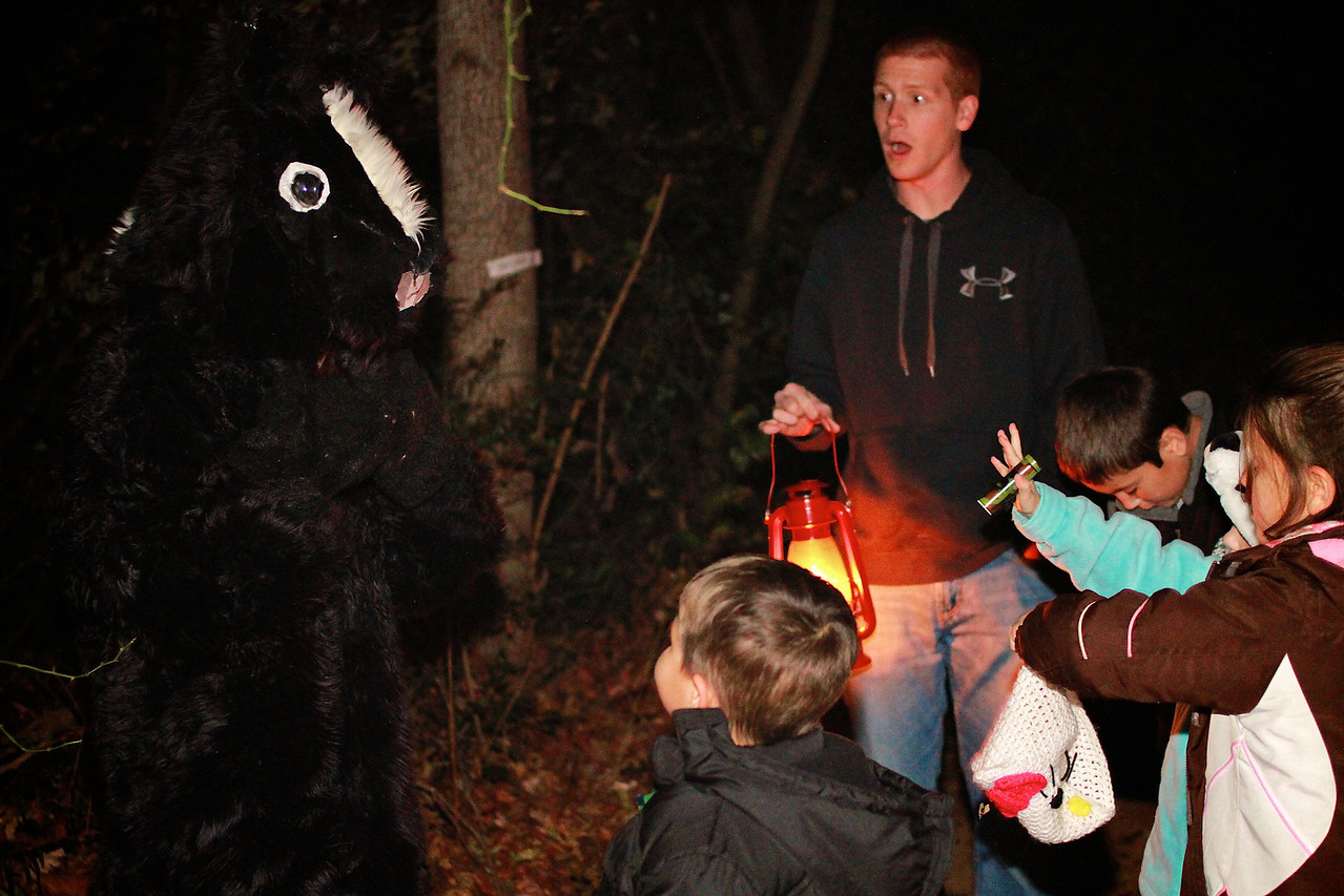 Enchanted Forest Fall 2012 at the Broad River Greenway.
