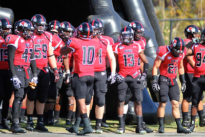 GWU prepares to run onto the field as GWU faces Coastal Carolina
