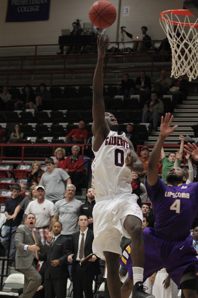GWU mens basketball team hosted Lipscomb College, Wednesday, November 15, at 6pm with a final score of 66-62.