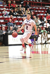 GWU basketball played Lipscomb college. Final Score GWU 62 Lipscomb 66