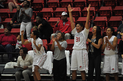 Lady Bulldogs face off against Lipscomb University, Friday November 9, 2012 in the LYCC.