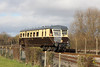 25 November 2012 :: GWR railcar on the demonstration line at the Didcot Railway Centre