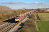 14 November 2012 :: 60015 passing Denchworth working 7C54 - Banbury Road Oxford to Whatley