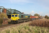 23 November 2012 :: 66571 passing Battledown working 4O54, Leeds to Southampton