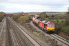 28 November 2012 :: Class 60 No. 60007 having just passed over the Bishton Flyover with 6B13, Robeston to Westerleigh oil train