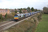 28 November 2012 :: 66424 passing Portskewett with 4V38 Tesco Express from Daventry to Wentloog