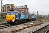 19 November 2012 :: 47853 leading 47828 away from Basingstoke with 0Z89, Southampton to Crewe