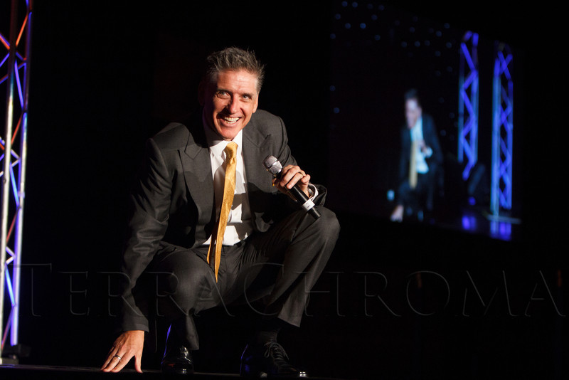 "Craig Ferguson performs.  ""Legacy Gala 2012,"" benefiting Children's Hospital Colorado Foundation, at the Hyatt Regency Denver at the Colorado Convention Center in Denver, Colorado, on Saturday, Nov. 10, 2012.<br /> Photo Steve Peterson"