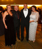 "Maureen and John (University of Colorado Hospital President and CEO) Harney, and Jim (Children's Hospital Colorado President and CEO) and Debbie Schmerling.  ""Legacy Gala 2012,"" benefiting Children's Hospital Colorado Foundation, at the Hyatt Regency Denver at the Colorado Convention Center in Denver, Colorado, on Saturday, Nov. 10, 2012.<br /> Photo Steve Peterson"