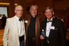 Brian Barhaugh (Project Voyce executive director, founder), Bill Stanfill (COBS boar of trustees chair), and Peter O'Neil (COBS executive director).  Colorado Outward Bound School Black Tie and Tennis Shoe Bucket List Gala, celebrating the COBS 50th anniversary, at the Hyatt Regency Denver at the Colorado Convention Center in Denver, Colorado, on Wednesday, Nov. 14, 2012.<br /> Photo Steve Peterson