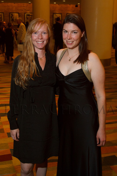 Event organizers:  Anaya Stout and Meg Mullen.  Colorado Outward Bound School Black Tie and Tennis Shoe Bucket List Gala, celebrating the COBS 50th anniversary, at the Hyatt Regency Denver at the Colorado Convention Center in Denver, Colorado, on Wednesday, Nov. 14, 2012.<br /> Photo Steve Peterson