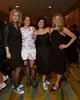 Tricia Smith, Joanne Kelley, Wendy Shaya, and Marian Van Poppel.  Colorado Outward Bound School Black Tie and Tennis Shoe Bucket List Gala, celebrating the COBS 50th anniversary, at the Hyatt Regency Denver at the Colorado Convention Center in Denver, Colorado, on Wednesday, Nov. 14, 2012.<br /> Photo Steve Peterson