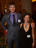 Staffers with the Utah program of COBS:  Jason McCloskey and Lexi Ruskin.  Colorado Outward Bound School Black Tie and Tennis Shoe Bucket List Gala, celebrating the COBS 50th anniversary, at the Hyatt Regency Denver at the Colorado Convention Center in Denver, Colorado, on Wednesday, Nov. 14, 2012.<br /> Photo Steve Peterson