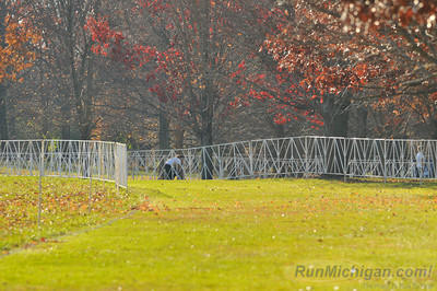 A portion of the women's 6k course at the 2012 NCAA Division One Cross Country Championships being held on November 17 in Louisville, KY. (RunMichigan.com/Dave McCauley)