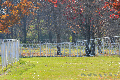 A look at a portion of the women's 6k course at the 2012 NCAA Division One Cross Country Championships being held November 17, 2012 in Louisville, KY.