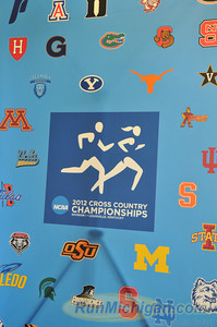 Some of the teams competing at the 2012 NCAA Division One Cross Country Championships in Louisville, KY. (RunMichigan.com)