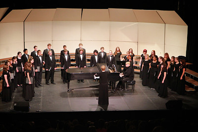 The 35th Annual Choral Clinic, featuring over 200 students from 20 high schools performing under the direction of Dr. Kevin Fenton of FSU.