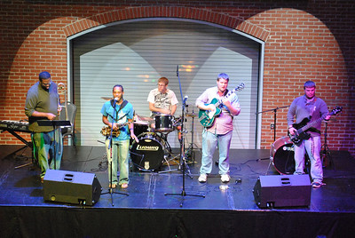 Carolina 152 performs at the Battle of the Bands.
