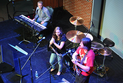 Free Parking performing at Battle of the Bands.